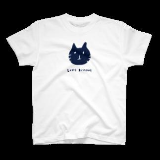 elegirlのlong distance(cat) Tシャツ