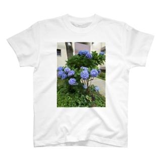 yurzukiの紫陽花 T-shirts