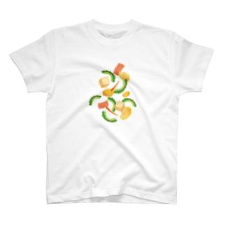 ごーやちゃんぷるー T-shirts