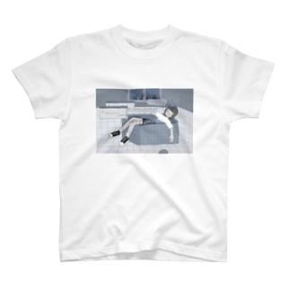 夜に溺れてしまうの T-shirts