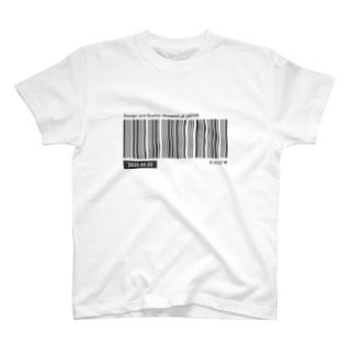 バーコード T-shirts
