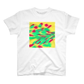 オブストラクトアートっぽく T-shirts