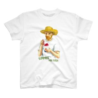 ゴッホの夏 T-shirts