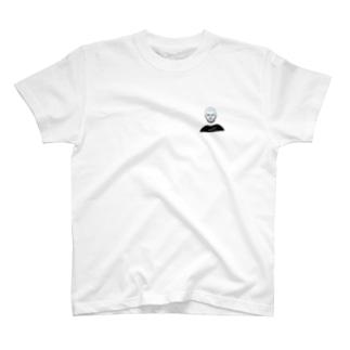 めがねおとこ4(スクエア) T-shirts