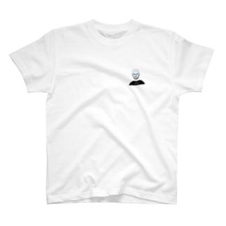 めがねおとこ3(ボストン) T-shirts