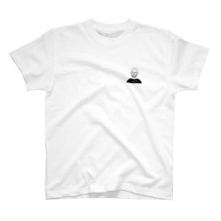 めがねおとこ2(ハーフリム) T-shirts