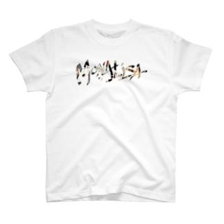 MONALISA✖️浮世絵 T-shirts