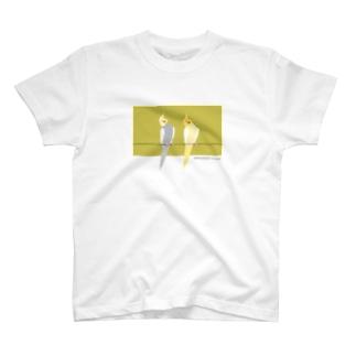 TKMTS STOREの【トリノート】 オカメインコたち T-shirts