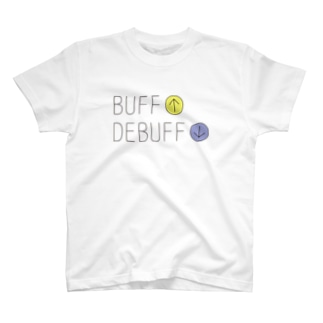 GAME-バフ&デバフ T-shirts