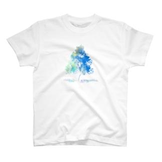 青空(文字無しver) T-shirts