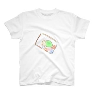 かめさんとであったひ T-shirts