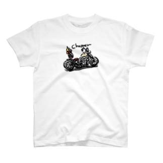 チョッパーアイボリー T-shirts