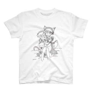 三木沙苗の獣妹達(苺花×神子) T-shirts