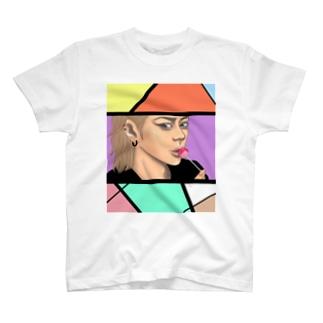 タバコ嫌いなんだょね。(モザイク) T-shirts
