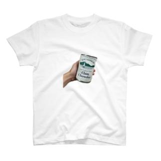 CLAM CHOWDER T-shirts