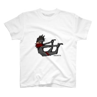 ニンジャスタ-反り体- T-shirts