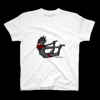 Balloon-design-laboのニンジャスタ-反り体- T-shirts
