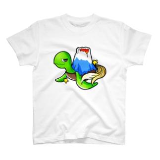 マウンテンカメー T-shirts