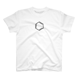 ベンゼン環Tシャツ T-shirts