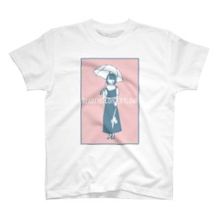 涙を枯らしてしまった女の子 T-shirts