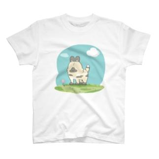 さわやかリカオンTシャツ T-shirts