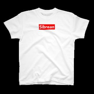 義母の蜜壺のsibrean BOX LOGO T-shirts