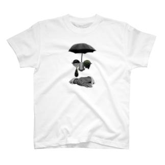 いっそ、苔むした喜びを T-shirts