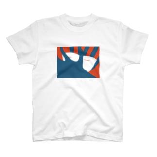 """儺の""""おやすみ""""Tシャツ T-shirts"""