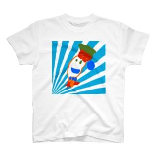 江戸川ベニのOMP2020 ももちゃんのお友達 T-shirts