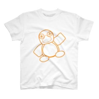 Nestori(オレンジ) T-shirts