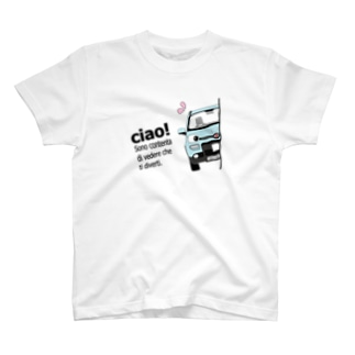 ひょっこりぱん4x4 FR ブルベネッツィアノ  T-shirts