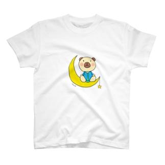あすか工房**くまヲ star T-shirts