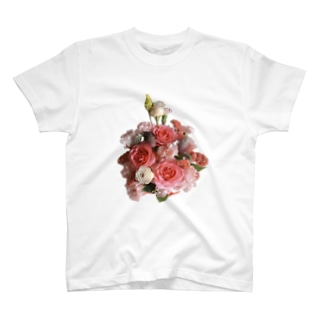ブーケのある生活 -summer- T-shirts