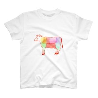 うし好き T-shirts