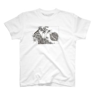 87uta オリジナル 「ブレイカー」 Tシャツ T-shirts