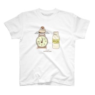 TS.スケールシナモン文鳥(ベージュ) T-shirts