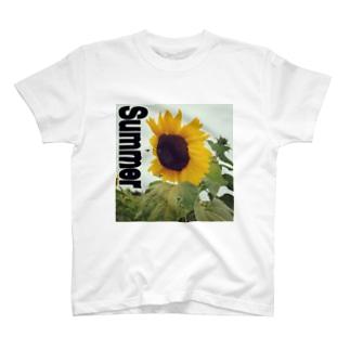 Summer ヒマワリ Vacation T-shirts
