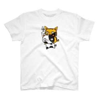 二猫力(ねこず) T-shirts
