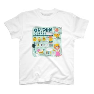 オーパインコーヒー T-shirts