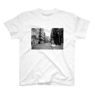 ニューヨークの街並み T-shirts