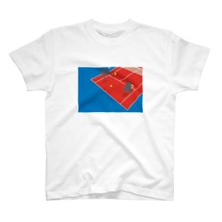 テニスゴリラ T-shirts