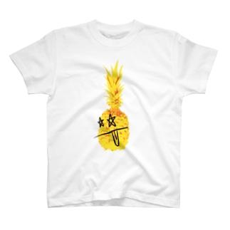 ロッキンパイナッポーOKINAWA T-shirts