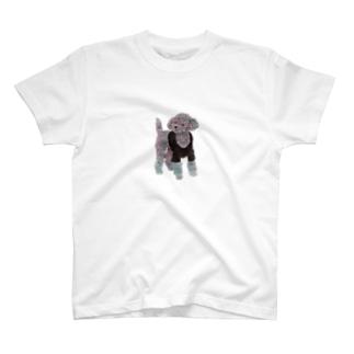 Suisui 切り抜き犬Ⅱ T-shirts