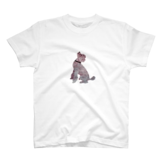 Suisui 切り抜き犬Ⅳ T-shirts