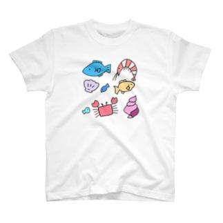 うみのさち T-shirts