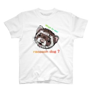 あなたはタヌキですか? T-shirts