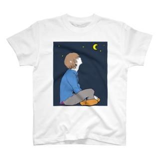 夜空(気だるげ男子) T-shirts