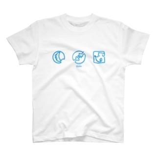 【DOGGYM Shake!】アイコンロゴ T-shirts
