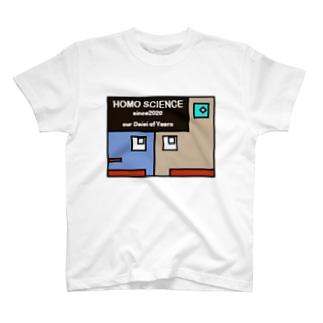 Homo Science グッドマン crew Tシャツ T-shirts