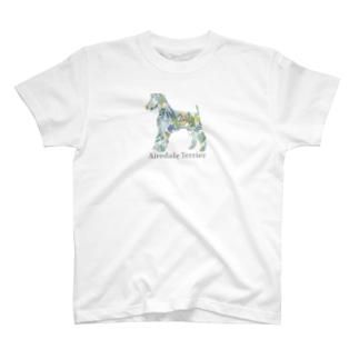 ボタニカル エアデール T-shirts